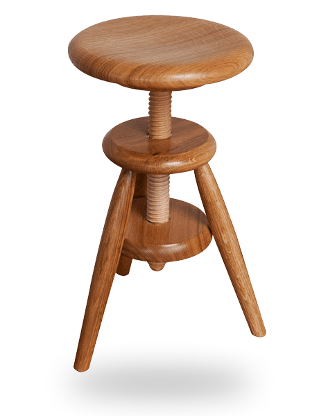 le tabouret en bois traditionnel ou design fabriqu en france tabouret vis enfant en bois. Black Bedroom Furniture Sets. Home Design Ideas