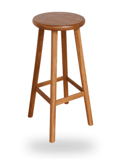 Le tabouret en bois traditionnel ou design fabriqu en - Fabrication tabouret de bar en bois ...