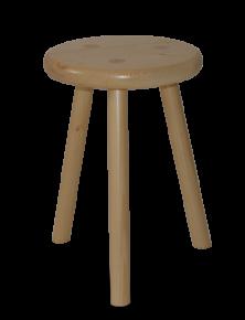 tabouret traditionnel artisanal en bois massif fabriqu en. Black Bedroom Furniture Sets. Home Design Ideas