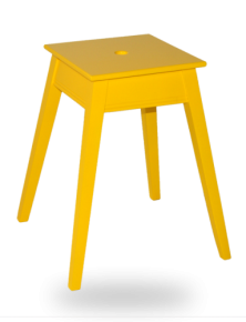 tabouret-carre-empilable-jaune