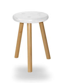 tabouret-rond-3-pieds-assise-blanche