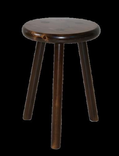 Le tabouret en bois traditionnel ou design fabriqu en france tabourets ronds 3 pieds en - Tabouret 3 pieds ikea ...