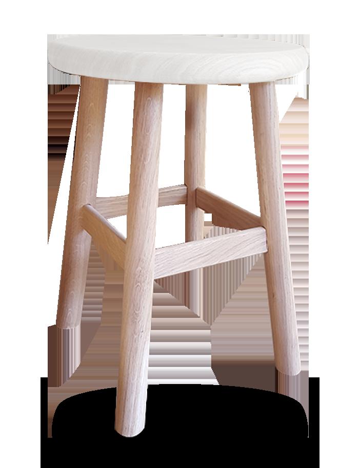 Tabouret de bar 4 pieds bois interesting charmant chaise - Tabouret de cuisine 4 pieds ...