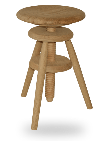 le tabouret en bois traditionnel ou design fabriqu en france tabouret vis d 39 horloger en. Black Bedroom Furniture Sets. Home Design Ideas